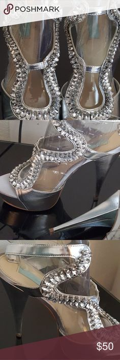 Betsey Johnson shoes Beautiful designer heels worn one time on my wedding day Betsey Johnson Shoes Heels