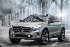 Mercedes GLA Concept | Gear X Head