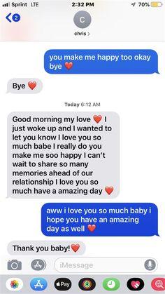 Goodmorning Texts To Boyfriend, Goodnight Texts To Boyfriend, Cute Messages For Boyfriend, Cute Text Messages, Love Quotes For Boyfriend, Boyfriend Girlfriend, Valentine Text Messages, Boyfriend Nicknames, Boyfriend Goals