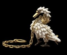 The Dunstable Swan. Found in a dig in Dunstable, Beds circa1400