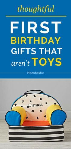 My kids get enough toys for their birthdays, so I like to find non-toy gifts for them that they'll actually love. Here are a few first birthday gifts I've purchased for my kids (and others!) that were truly loved and used to no end.