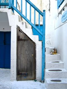 under the stairs #doors
