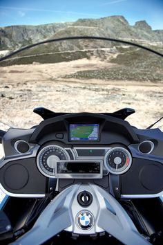 Photo Gallery: 2012 BMW K 1600 GT and GTL: GTL Cockpit