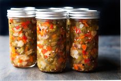 hot giardiniera pickled peppers recipe | via use real butter