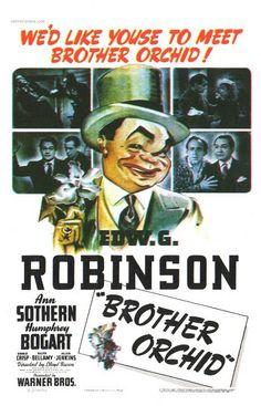 """Brother Orchid"" (1941) Edward G Robinson, Ann Sothern, Humphrey Bogart"