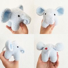 Endangered Animal Crochet Project: Elephant by Caitie Moore
