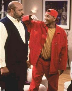 25 Years Later, We Look Back on Will Smith's Best Fresh Prince Looks! from Will Smith's Craziest Looks on The Fresh Prince of Bel-Air Fresh Prince, Jada Pinkett Smith, Willian Smith, Prinz Von Bel Air, Look Hip Hop, Parisian Girl, Bad Boy, Versace, Lookbook