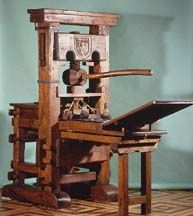 This Was The Gutenberg Printing Press And First Printer Used To Complete