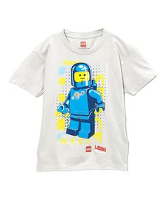 Another great find on #zulily! Gray Space Man LEGO Movie Tee - Boys #zulilyfinds