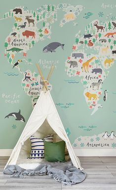 Cute Kids Playroom Decorating Ideas (6)