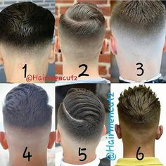 Which one do you prefer? Boy Haircuts Short, Barber Haircuts, Modern Haircuts, Hairstyles Haircuts, Haircuts For Men, Comb Over Fade Haircut, Types Of Fade Haircut, Hair Salon Names, Hair And Beard Styles