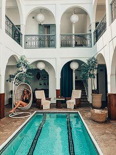 Marrakech - arabic style - arabic inspiration - oriental style - morocco - arabic decor - boho style - boho inspiration - riad - dream hotel