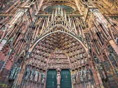 """Architecture on Twitter: """"Strasbourg Cathedral, Strasbourg https://t.co/2sXWivkRm3"""""""
