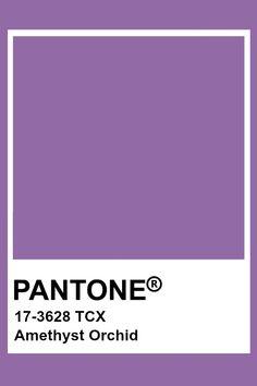 Pantone Colour Palettes, Pantone Color, Colour Pallete, Color Schemes, Carta Pantone, Pantone 2015, Light Purple Flowers, Orchid Color, Colour Board