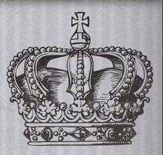 Coroa Tattoo, Crown Drawing, Crown Tattoo Design, Memorial Tattoos, Luxury Logo, Tattoos With Meaning, Tatting, Tattoo Designs, Clip Art