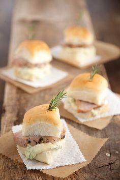 Mini Pork Sandwiches #pauladeen