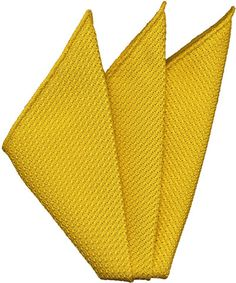 Yellow Gold Grenadine Silk Pocket Square #29