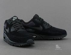 6e35e389bdf68e Nike Air Max 90 Premium Black Black Sportswear Store