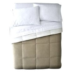 Home™ Classic Light-Warmth Down-Alternative Reversible Comforter. King #JCPenney #Contemporary