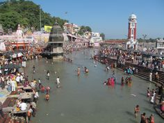 Haridwar the city of God in foot of Himalaya.