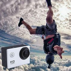 ACTION-CAMERA-SPORT-IMPERMEABLE-ULTRA-HD-1080P-12MP-GOPRO-STYLE-DV-Camescope Windows Xp, Gopro, Action Sport, Go Car, Outdoor Camera, Full Hd 1080p, Waterproof Camera, Sports Camera, Flashcard