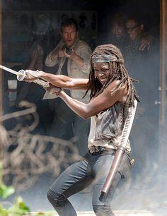 "The Walking Dead Season 6 Episode 3 ""Thank You"" Michonne"