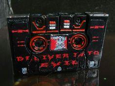 Carnage custom Decepticon Transformer cassette alt mode