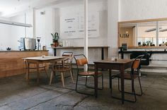 MELANIE GILES CAFE: NUEVO CONCEPTO DE CAFETERÍA     Harmony and design  