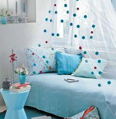 Yeni Moda Yatak Odası Cibinlik Tasarımı