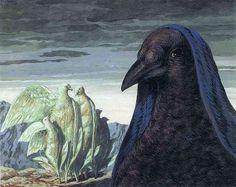 """Prince Charming"", René Magritte, 1948"