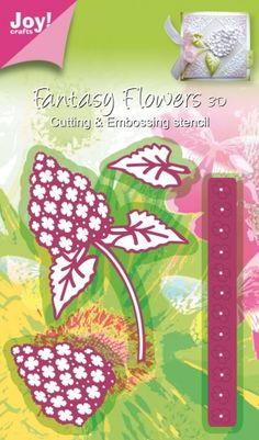 Joy!Crafts mallen 6002/0181 Fantasy Flowers 3D