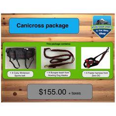 Canicross package
