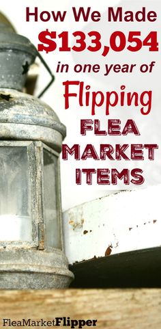Last year we made six figures at our flea market flipping business! We went full-time and it was a great year with some fun flips! #fleamarket #thrift #sidehustle #makemoney #fleamarketflip