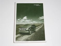 2006 Ford Explorer Owners Manual Book