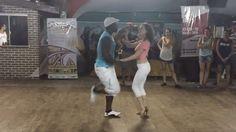 Zouk dance moves