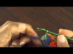 Punto jazmín en crochet... mi versión - YouTube