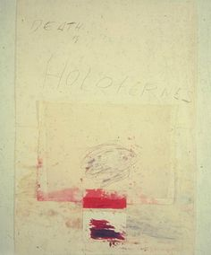 Cy Twombly, Death at Holofernes.