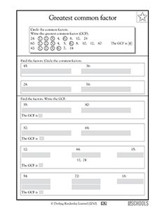 Alphafriends Worksheets Word Least Common Multiple  Math  Pinterest  Math Worksheets And  Verbs Like Gustar Worksheet Pdf with Free Printable Long Vowel Worksheets Excel Th Grade Math Worksheets Greatest Common Factor Worksheet On Direct And Inverse Proportion Excel