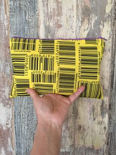 Planner Bag Zipper - Traveler's Notebook - Midori - Moleskine - Leuchtturm - TN Pouch - Journal Bag - Personal Planner - Chic Sparrow by LowlandOriginals on Etsy Travelers Notebook, Moleskine, Pouch, Buy And Sell, Journal, Zipper, Chic, Fabric, Handmade
