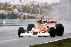 James Hunt (GBR) (Marlboro Team McLaren), McLaren M26 - Ford-Cosworth DFV 3.0 V8 (finished 1st)  1977 United States Grand Prix, Watkins Glen Grand Prix Race Course