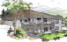Edenbridge 30-626 - Contemporary House Plan from Associated Designs
