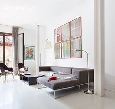 Bright apartment in Madrid by architect Isabel Fraga 3