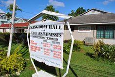 Kingdom Hall in Ocho Rios Jamaica