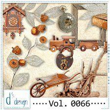 Vol. 0066 - Vintage Mix  by Doudou's Design  #CUdigitals cudigitals.com cu commercial digital scrap #digiscrap scrapbook graphics