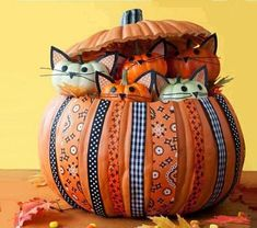 Decorate with pumpkins, 6 nice ideas for Halloween | My desired home