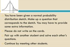 Write your own Normal distribution problem