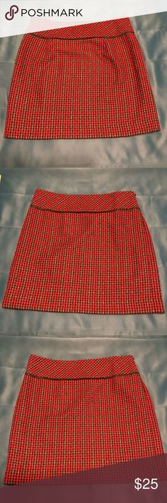 Clothing, Shoes & Accessories Charitable Ann Taylor Loft Womens Lined Plaid Skirt Size 6 Skirts