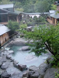 Hatcho yu (Okukinu Onsen, Tochigi-ken)  Nikko onsen day trip 10/30
