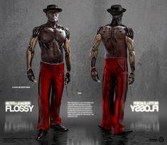ArtStation - Deus Ex Mankind Divided - A Criminal Past DLC - Character Concept Art , Yohann Schepacz OXAN STUDIO