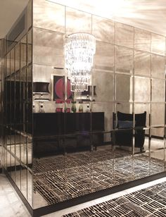 Luxury London Apartments at Walpole Mayfair |  Mirror tile                                                                                                                                                      More